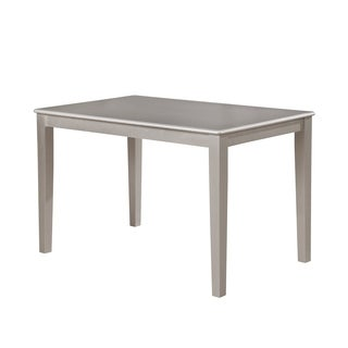 Avignor Avignor Simplicity Contemporary Silver Finish Dining Table
