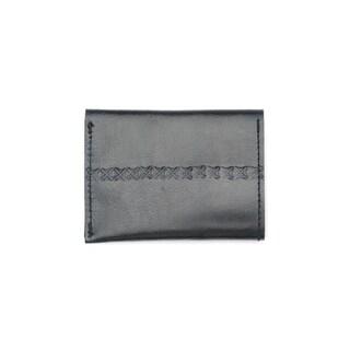 Handmade Sustainable Leather Wallet - Black (India)