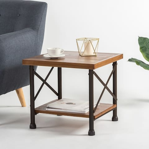 Priage by Zinus Industrial Style Side Table