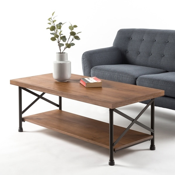 Shop Priage By Zinus Industrial Style Coffee Table