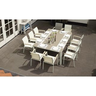 white bellini patio furniture outdoor seating dining for less