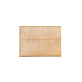 Handcrafted Sustainable Leather Wallet - Caramel (India)