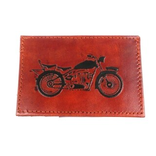 Handmade Sustainable Leather Wallet - Open Road (India)
