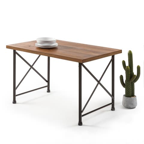 Priage by Zinus Industrial Style Dining Table