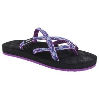 Teva Womens Olowahu Flip Flop Sandals