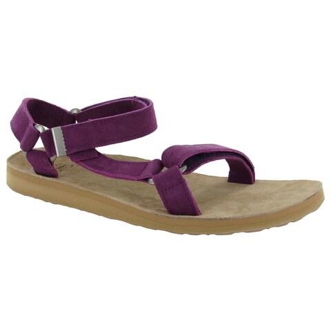Teva Womens Original Universal Suede Sandals