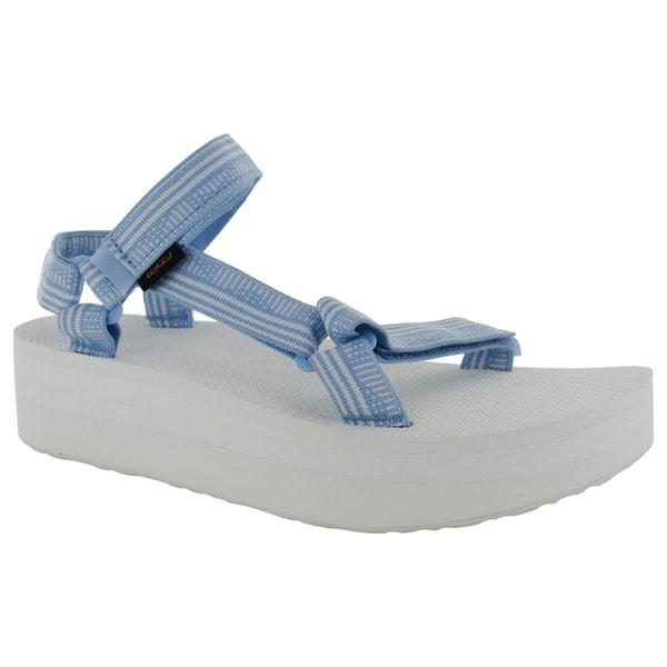 a61bc793b582 Shop Teva Womens Flatform Universal Platform Sport Sandals - Free ...