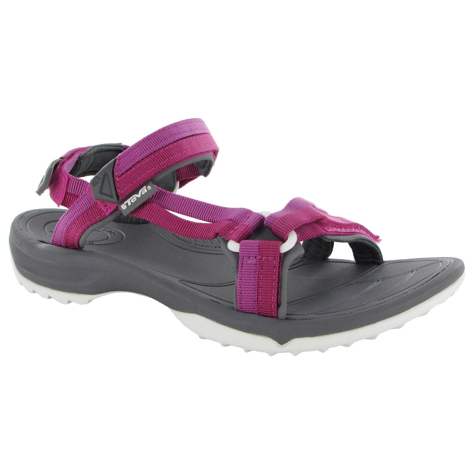 Teva Womens Terra Fi Lite Sport Sandals (City Lights Blue...