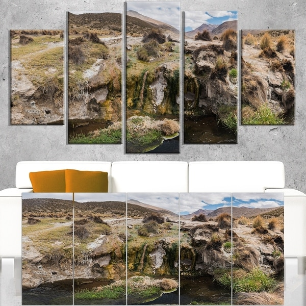 Fumaroles Altipano Geothermal Area - Landscape Print Wall Artwork