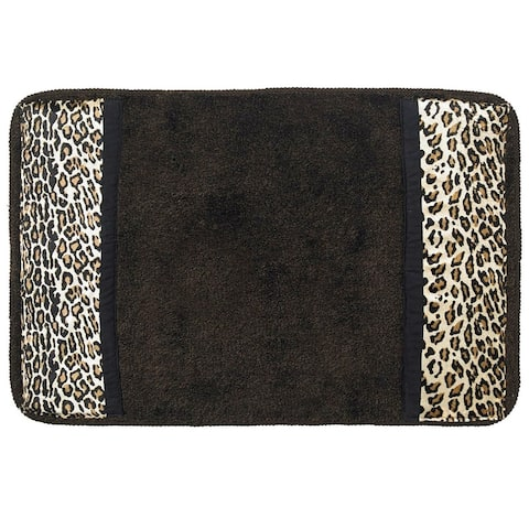 "Sweet Home Collection Exotic Animal Print Bath Rug (21""x32"")"
