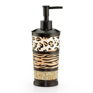Sweet Home Collection Exotic Animal Print Lotion/Soap Dispenser