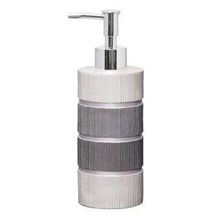 Grey Modern Line Lotion/Soap Dispenser