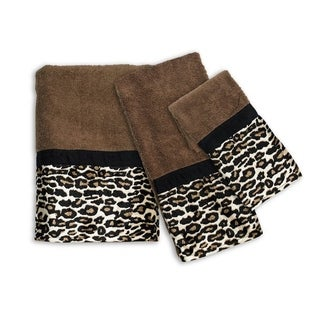 Sweet Home Collection Exotic Animal Print 3-piece Towel Set