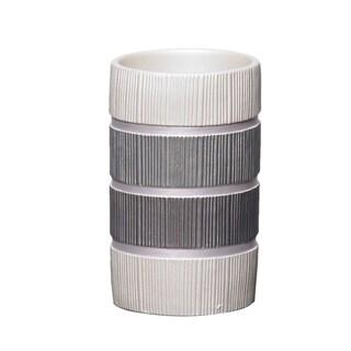 Grey Modern Line Tumbler