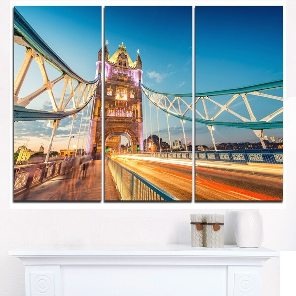 Beautiful View of Tower Bridge London - Cityscape Canvas print