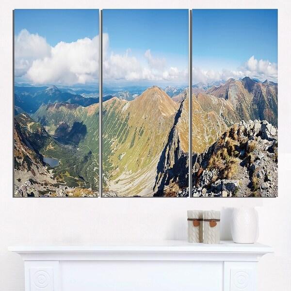 Ostry Rohac and Volovec at Tatras - Landscape Wall Art Canvas Print