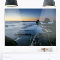 Sunrise at Sydney Seashore - Seashore Glossy Metal Wall Art