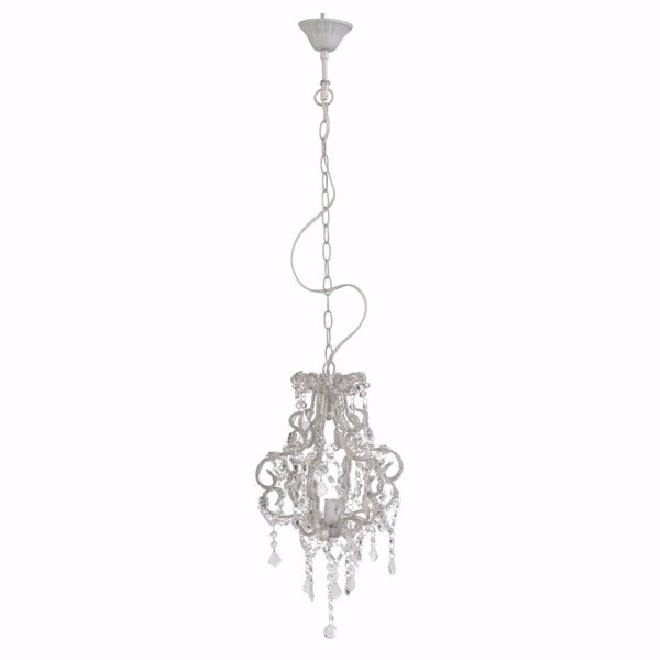 Chicly Sumptuous Edwina Beaded Pendant Lamp