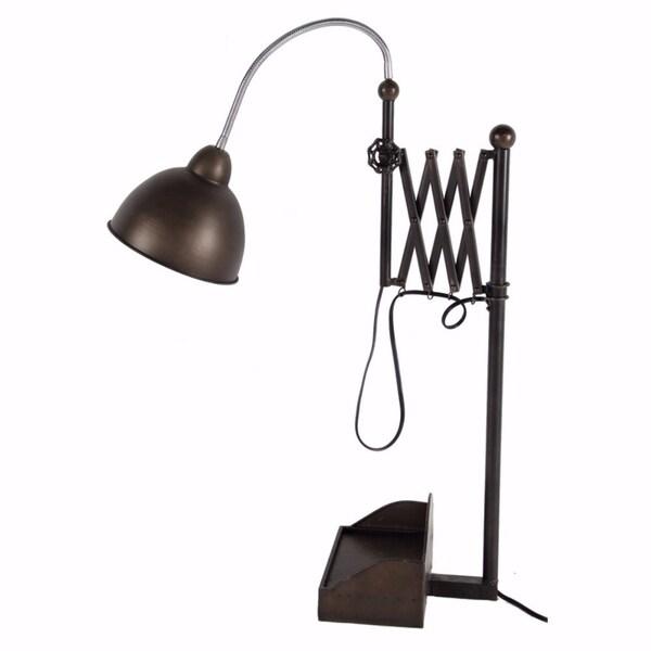 Antique Functional Arris Extension Table Lamp