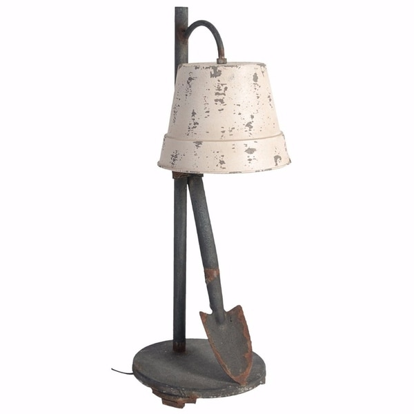 Ideal and Distinctive Distressed Table Lamp