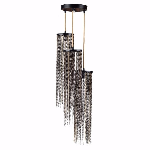 Supremely Stylish Hayword 3-light Chandelier