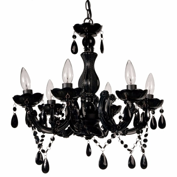 Bold and Beautiful 6-Arm Chandelier