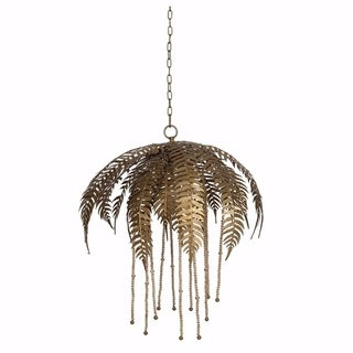 Nature Inspired Metal Paola Chandelier, Gold