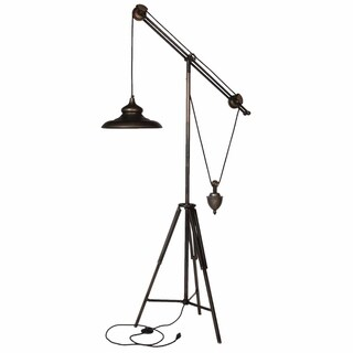 Unique Arris Balanced-Arm Tripod Floor Lamp
