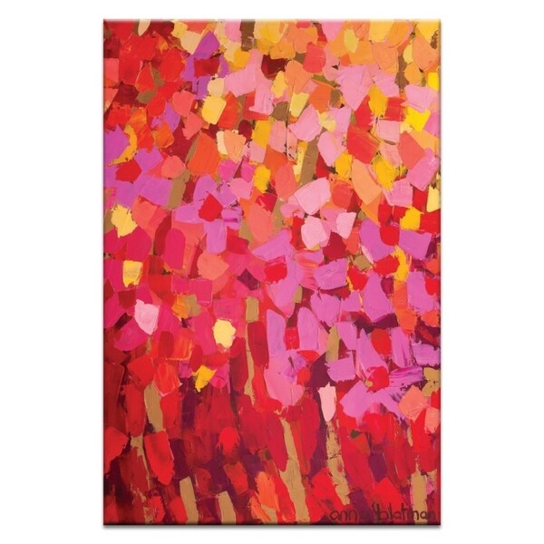 Artist Lane 'Mixed Pinks' by Anna Blatman Canvas Print Wall Art