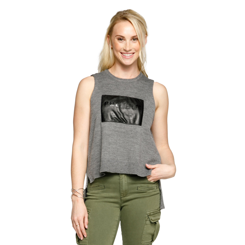 Xehar Womens Casual Stylish Sleeveless High Low Tank Tuni...