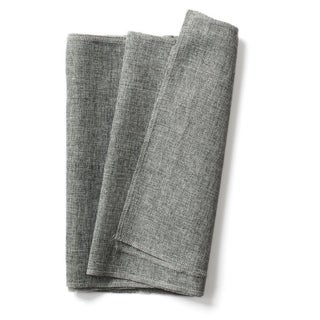 Gray Burlap Table Runner Imitated Linen Wrinkle-Free 14 x 48 Inch