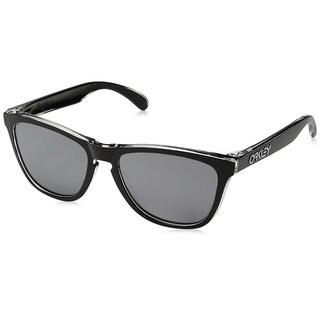 Oakley Frogskins Sunglasses Eclipse Clear/ Black Iridium 55mm