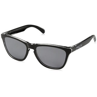 Oakley Frogskins Sunglasses Eclipse Clear/ Black Iridium 55mm