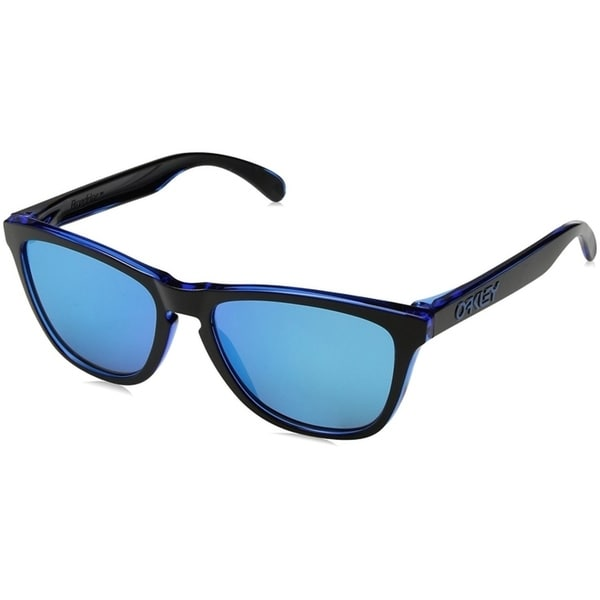 047267fe36e Shop Oakley Frogskins Sunglasses Eclipse Blue  Sapphire Iridium 55mm ...
