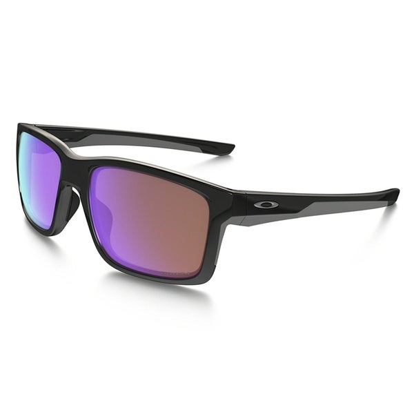 88b88cbf98 Shop Oakley Mainlink Sunglasses Polished Black  Prizm Golf 57mm ...