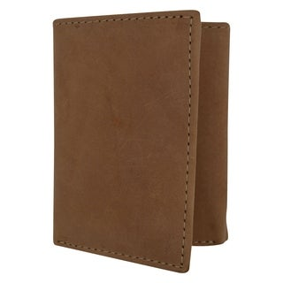 Trifold Credit Card Holder Leather Wallet