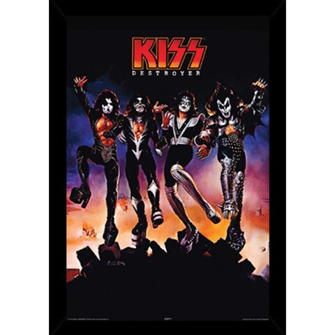 Kiss Destroyer Poster With Choice of Frame (24x36)