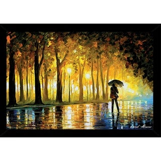 Bewitched Park By Leonid Afremov Poster With Choice of Frame (24x36)