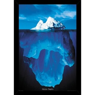 Hidden Depths Poster With Choice of Frame (24x36)
