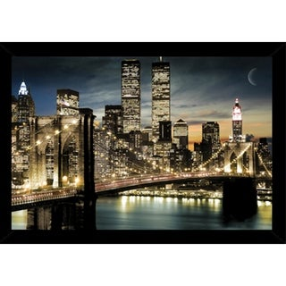 Manhattan Lights Poster With Choice of Frame (24x36)