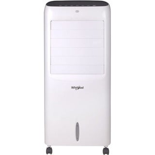 Whirlpool 214 CFM Indoor Evaporative Air Cooler with Remote Control and Ice Packs in White