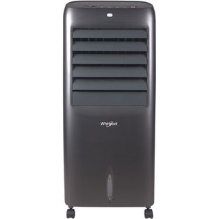 Whirlpool 214 CFM Indoor Evaporative Air Cooler with Remote Control and Ice Packs in Titanium