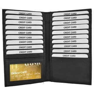 AFONiE RFID Croco Cradit Cards Holder