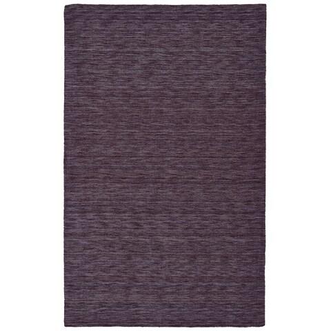 """Grand Bazaar Celano Purple Wool Rug - 2'3"""" x 3'9"""""""