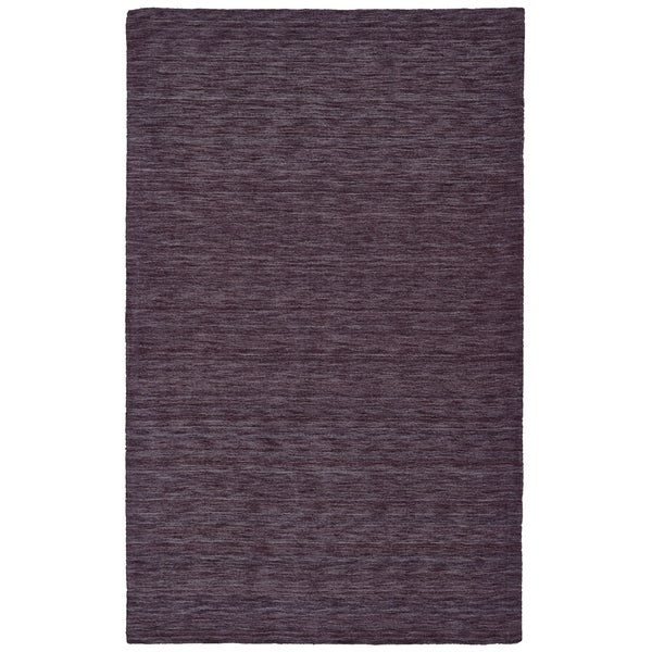 Grand Bazaar Celano Purple Wool Rug (2' X 3') - 2' x 3'