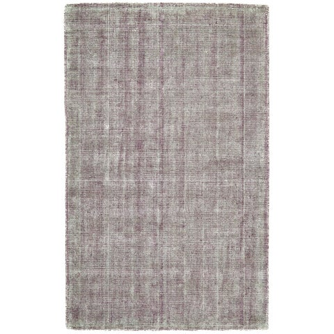 Grand Bazaar Sarma Plum Wool Rug - 2' x 3'