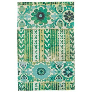 Grand Bazaar Ashlyn Emerald Area Rug - 2' x 3'