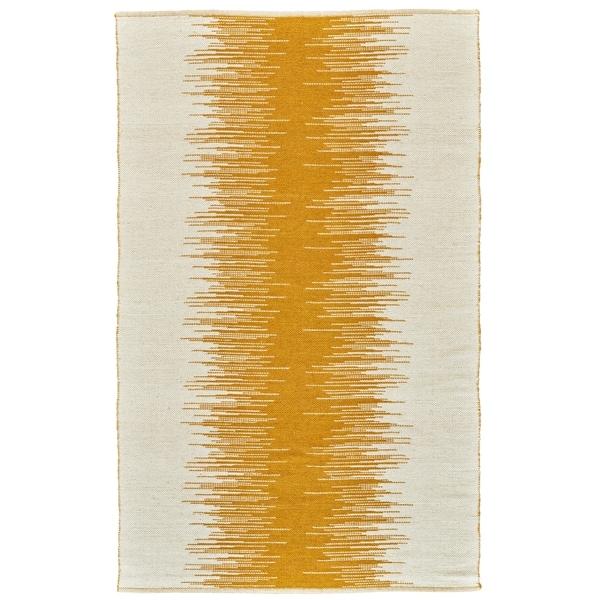 Grand Bazaar Bashia Mustard Wool Rug - 2' x 3'