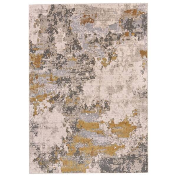 Shop Grand Bazaar Vanhorn Gold Birch Wool Rug 1 8 X 2 10 Overstock 19819782