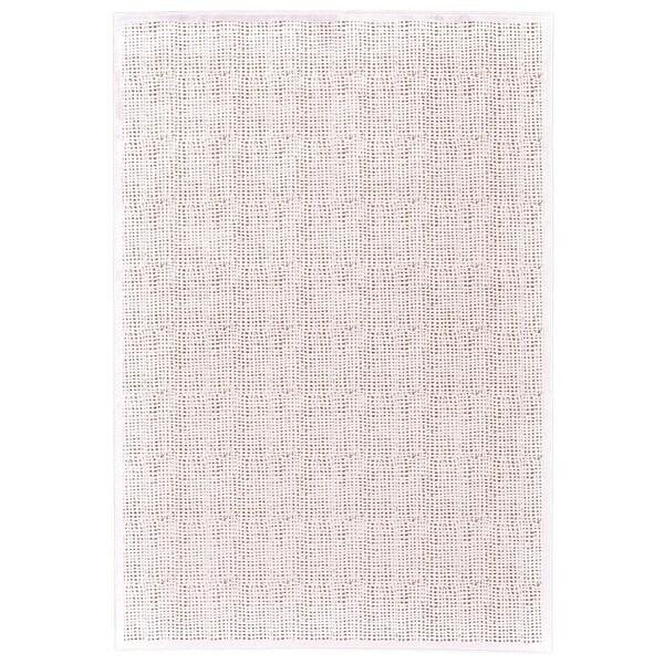 "Grand Bazaar Qazi Blush/ White Wool Rug - 1'9"" x 2'10"""